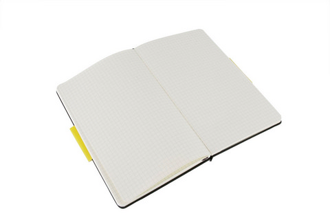 Moleskine Squared Notebook Soft Cover X-Large 7.5 X 10