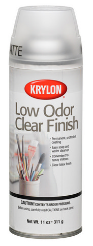 Low Odor Clear Finish Matte 11oz