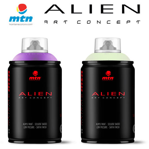 Alien 250ml  Rv60 Krypton Green