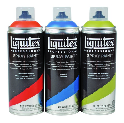 Liquitex Art Spray 400ml Phthalo Green 7 (Blue Shade)