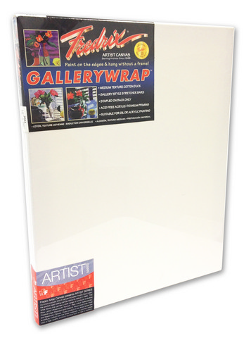 Fredrix Artist Series Gallerywrap Canvas 24X36 1-3/8 Bars