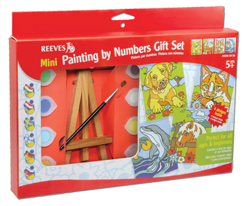 Paint By Number and Foil Kits