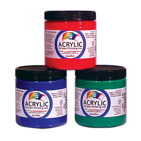 Arcylic Waterbase Screen Printing Ink Gold Gallon