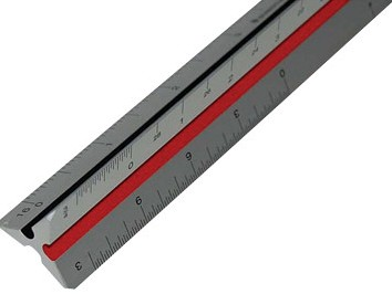 steadtler metal engineer scales