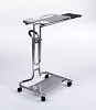 Calico Laptop Cart with mouse pad Chrome Clear