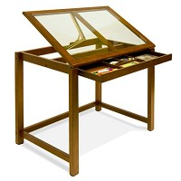 Studio Design Drafting Table studio designs futura craft station with glass top walmartcom Studio Design Sierra Table