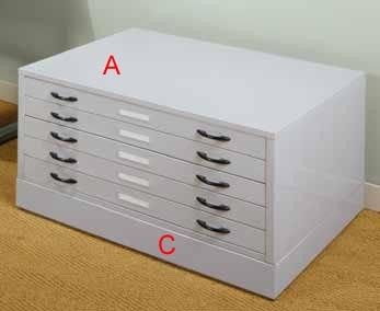 Studio Design Flat File Riser