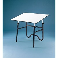 Alvin Drafting Table Onyx Black Base Only