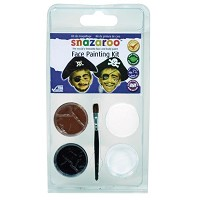 Snazaroo Face Painting Theme Mini Clam Pack - Pirate
