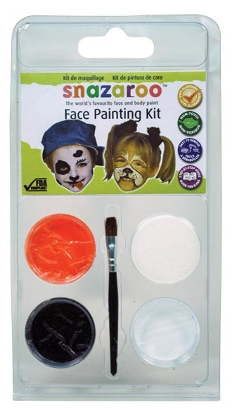 Snazaroo Face Painting Theme Mini Clam Pack - Diggy Dog