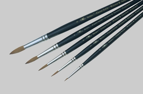 Winsor Newton Series 7 Kolinsky Sable Brushes