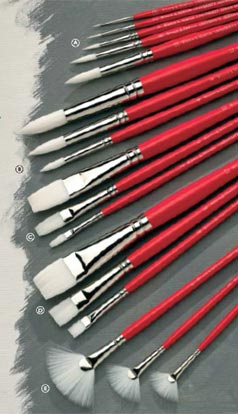 Winsor Newton University Brushes