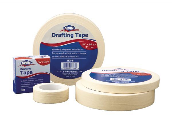 Alvin Drafting Tape 1/2 inch x 60yds