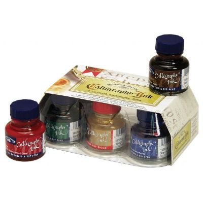 Winsor & Newton Calligraphy Ink Introduction Set