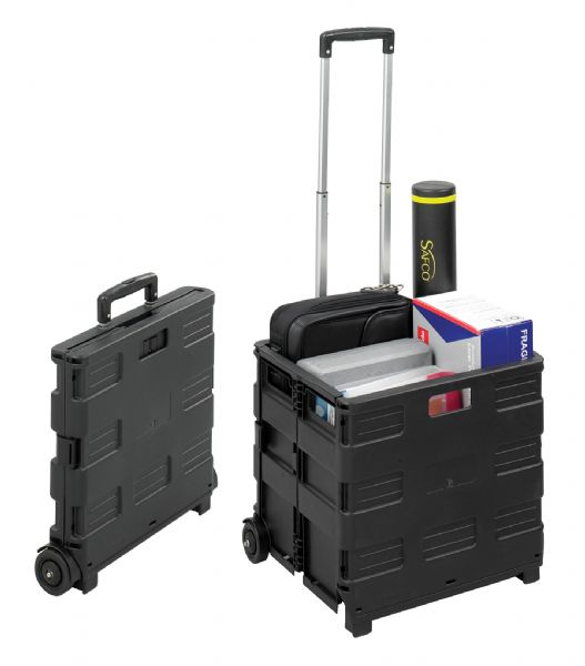Collapsible Stowaway Crate by Safco