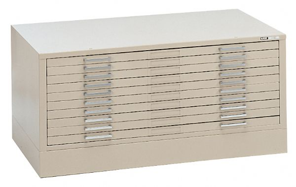 10-Drawer C-File White by Mayline®