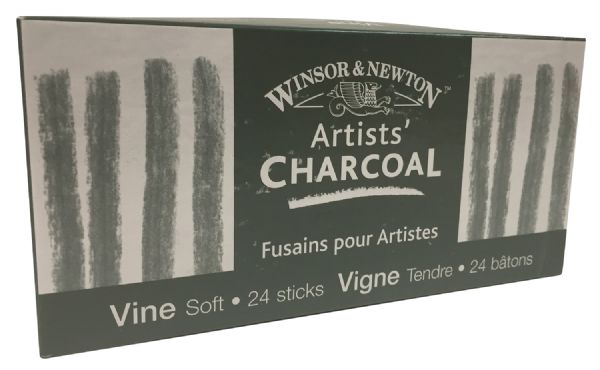 Winsor & Newton Artists' Vine Charcoal Soft Set