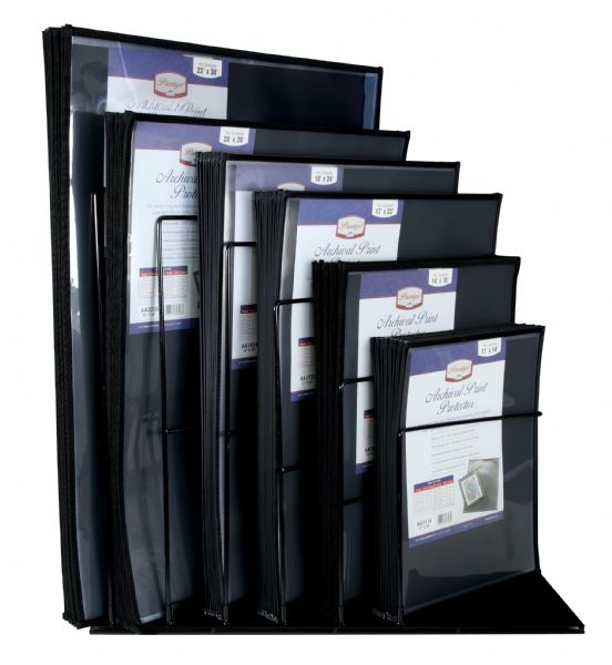 Archival Print Protectors Display (Wire Rack) by Prestige
