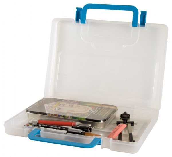 Portable Storage Case Small Clear by Alvin