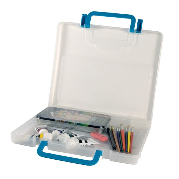 Portable Storage Case Medium Clear by Alvin