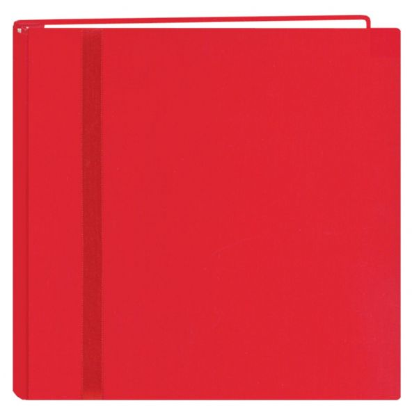 12 x 12 Scrapbook Red by Pioneer  Snap Load