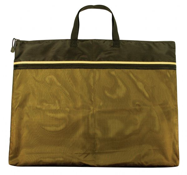 "18"" x 24"" Dual Zippered Pocket Fabric Mesh Bag by Alvin"
