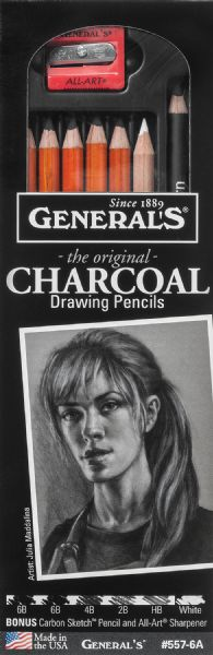 General's Charcoal Drawing Pencil Set