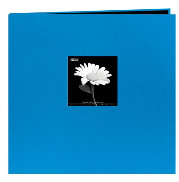 12 x 12 Fabric Frame Scrapbook Sky Blue by Pioneer