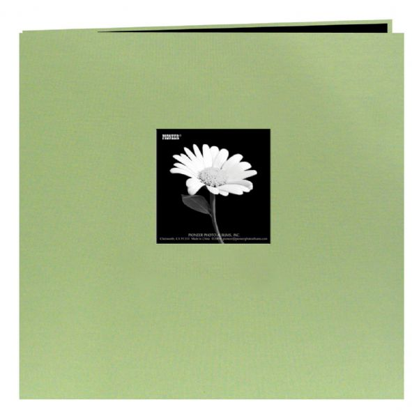 "12"" x 12"" Fabric Frame Scrapbook Sage Green by Pioneer"