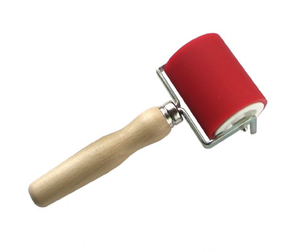 Heritage Arts Professional Hard Rubber Brayer 2 3/8 inch
