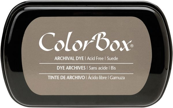 ColorBox Full Size Archival Dye Ink Pad Sude