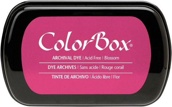 ColorBox Full Size Archival Dye Ink Pad Blossom