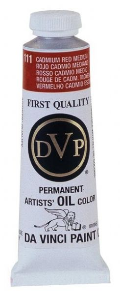 Da Vinci Artists Oil Color Paint 37ml Cadmium Red Medium