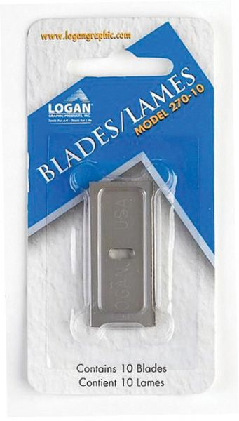 Logan Mat Cutter Replacement Blades 10-Pack