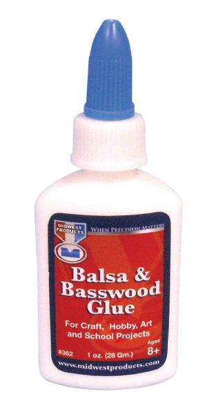 Midwest Balsa and Basswood Glue