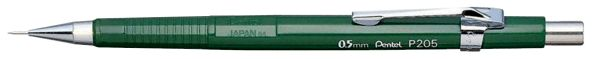 Pentel Sharp 0.5mm Green Barrel Drafting Pencil