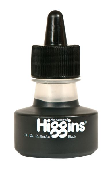 Higgins Non-Waterproof Black Ink