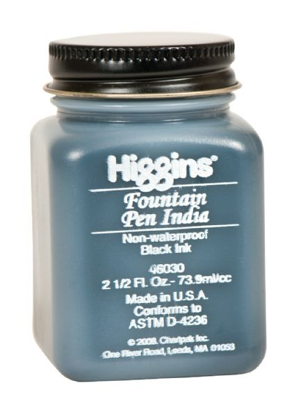 Higgins Fountain Pen India Ink