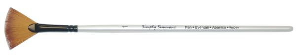 Daler-Rowney Simply Simmons Synthetic Acrylic/Multimedia Brush Fan Blender 1