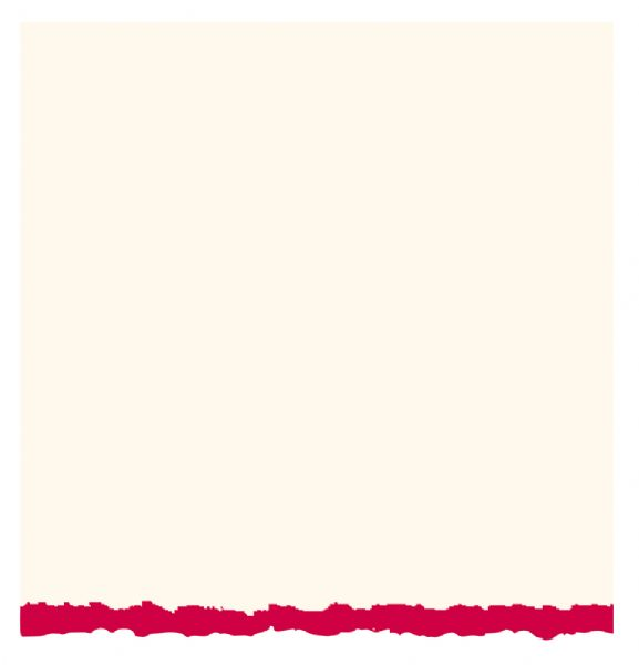 5 x 6.875 White Red Deckle Creative Cards 20-Pack