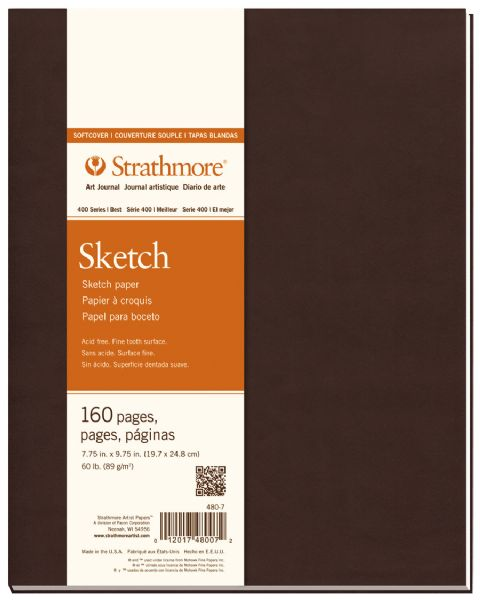 "Soft Cover Sketch Journal 7.75"" x 9.75"""