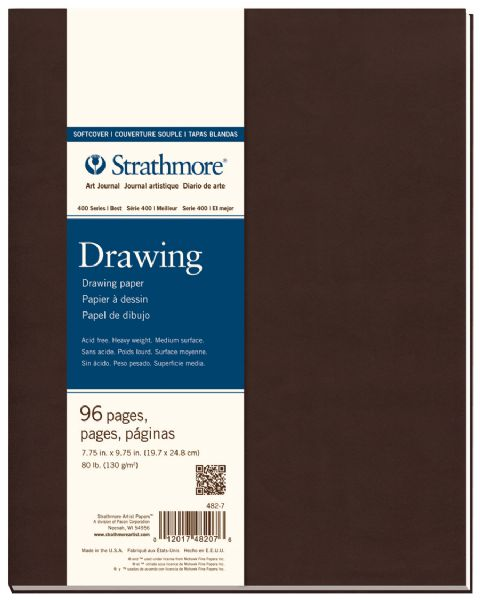 "Soft Cover Drawing Journal 7.75"" x 9.75"""