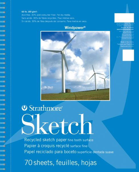 "5.5"" x 8.5"" Wire Bound Sketch Pad"