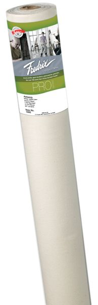 Fredrix PRO Series 72 inch x 3yd Linen Acrylic Primed Canvas Roll 190DP Antwerp