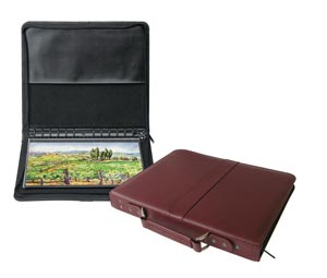 Leather Presentation Case Burgundy 14X17