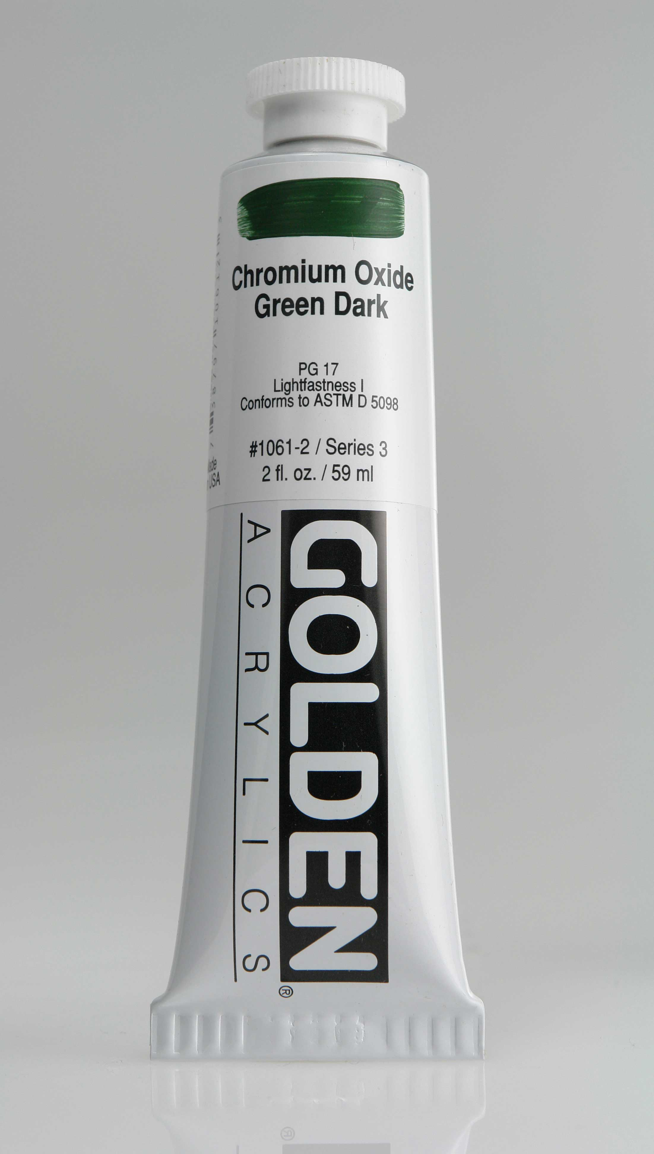 Cadmium Orange 2 oz Golden Acrylic
