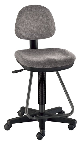 Viceroy Medium Gray Drafting Chair
