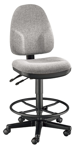 Monarch Grey Drafting Chair