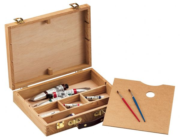 Wood Sketch Box Med