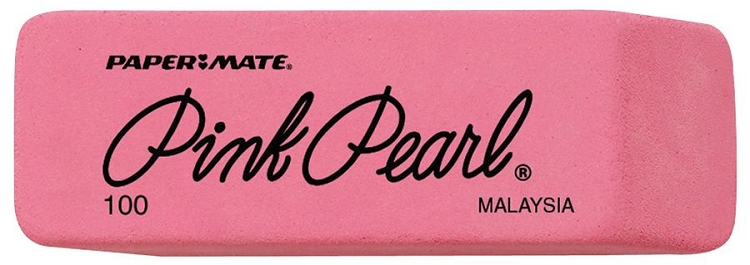 Pink Pearl Medium Eraser 24 Count Box